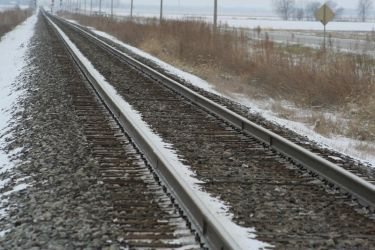 Railroad Track Stock by JustinByerline-Stock