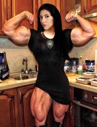 Rosa Diaz Muscled by Turbo99
