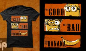 The Good, the Bad and the Banana by inmaxpictures