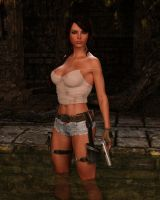 Lara 077 by Cosmics-3D-Angels