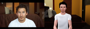 Markiplier without glasses The Sims 3 by SpookyMuffin4545