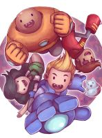 Bravest Warriors with Catbug by Ry-Spirit