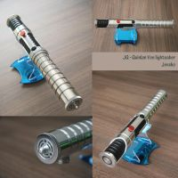 Quinlan Vos lightsaber by Mace2006