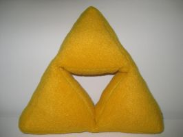 Triforce Plushie by Voldenae