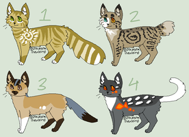 Adoptables 3 (CLOSED) by homeqrown