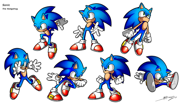 Sonic training by sergio-borges