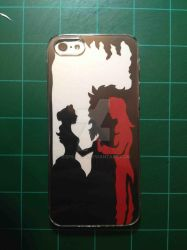 Beauty and the Beast iPhone Case by Icepearl14