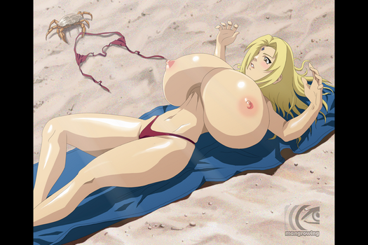 Tsunade and the thief by mangrowing