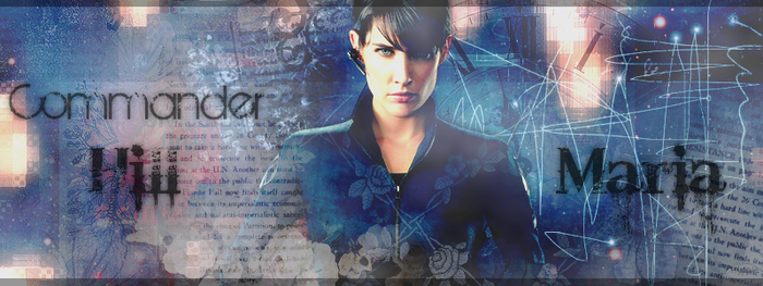 Commander Maria Hill by LokiBap