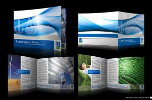 DNV brochure layout design by moiret