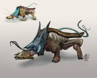 Sifter Beast Redo by Vincent-Covielloart