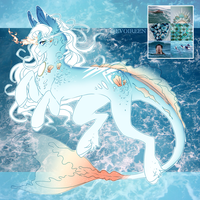 Mermaid Babe (AUCTION CLOSED) by Evoireen