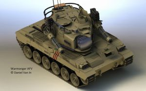 Warmonger AFV I by Quesocito