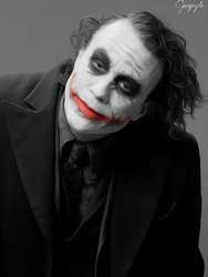 Joker Portrait by Gazgoyle