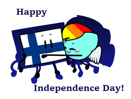 Happy Independence Day, Finland! by SkyMeowCute
