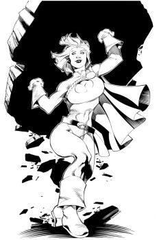 Powergirl by ChristopherStevens