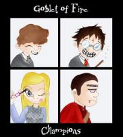 Fire Goblet Champions by Soozan