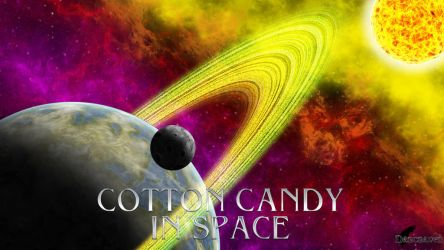Cotton Candy in Space by Darcraven2