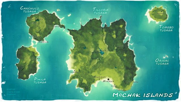 Personal - Machak Islands by Cresii