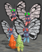 XPS Pokemon X and Y Caterpie Line