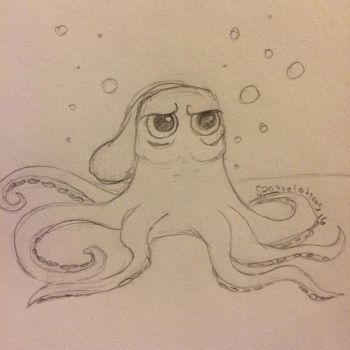 06- Hank the Octopus  by Spazzel