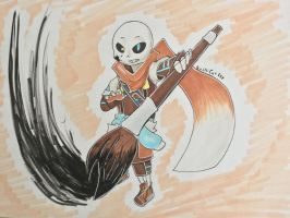 Ink! Sans by Sushi-Cat333
