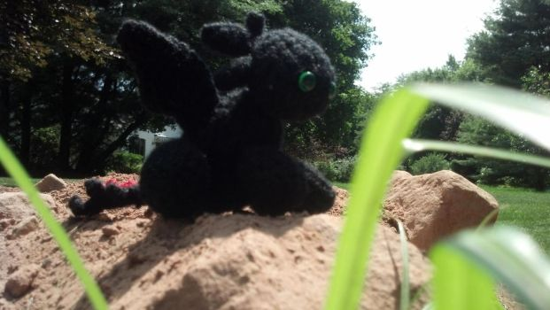Amigurumi Toothless : Toothless stuffed animals i want favourites by captainrex on