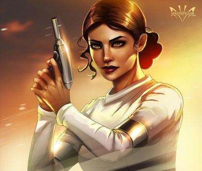Padme by Arkenstellar