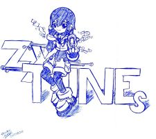 Aile ZX Tunes -doodle- by Shadow-Hunter-2192