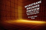 3D Wireframe Brushes Preview by XResch