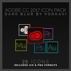 Dark Blur by VoDkAvi (Adobe CC 2017) by VoDkAvi