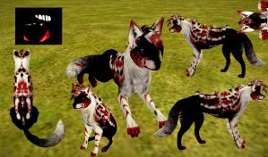 Feral Heart Preset Adoptable #20 (Closed) by ChocolateW0lf