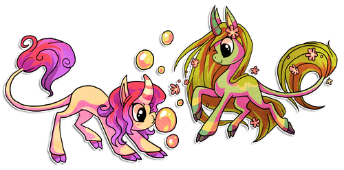 Princess and sage by griffsnuff