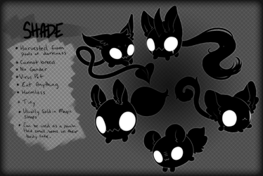 Shade - Closed Species by Mousu