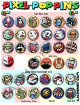 Pixel Pop Buttons-page 1 by Galindorf