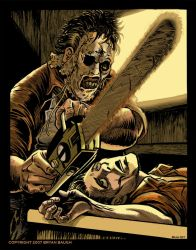 Leatherface by BryanBaugh