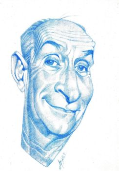 Louis de Funes by Muxo