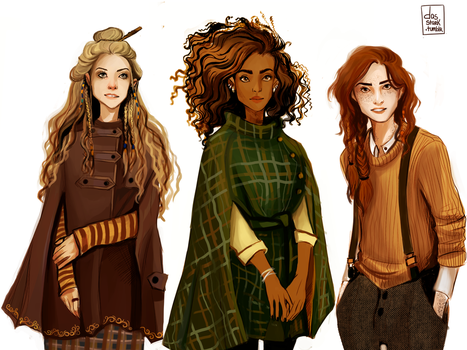 Witch gang by nastjastark
