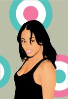 Lauren London Vector by mojaam
