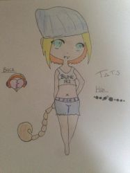 Hana Mix: Skylar and Her Tattoos by aiyana231
