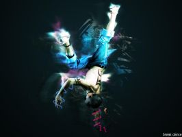 Break Dance wallpaper version by AhmedART