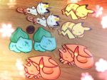 Sleeping Pokemon Decals by KuchikixRukia