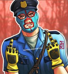 Commission: Officer Nacho by prongsie
