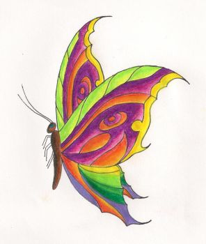Butterfly and the Eye of Ra Nr. 2 by sharkinc