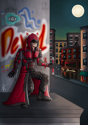 [Gift] A Daredevil's Creed by Beginneratart