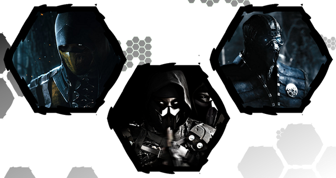 Mortal Kombat X by WE4PONX
