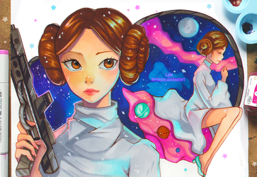 +Star Wars - The Princess of Stars+ by larienne