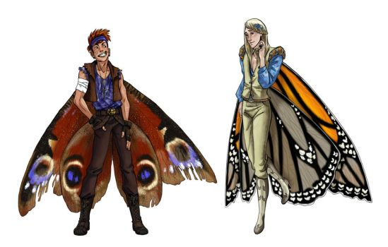 Butterfly Boys by iesnoth
