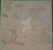 Tom And Jerry Comic page WIP by LoveMuf1n