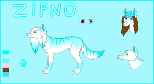 *OLD* Zifno - FURSONA Ref Sheet by Zwirzaczek10
